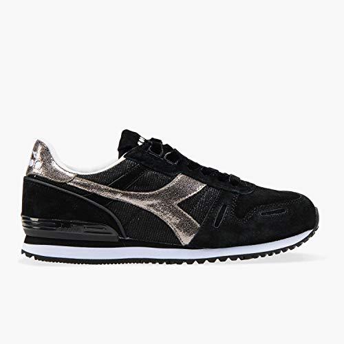Black Trainers Premium Wn Titan Diadora Black 1qaw0Agg