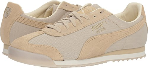 PUMA Men's Roma Summer Sneaker, Pebble-Whisper White, 14 M US (Roma Puma Suede)