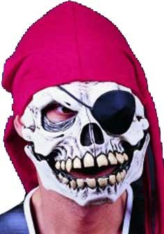 Pirate Skull Mask ()