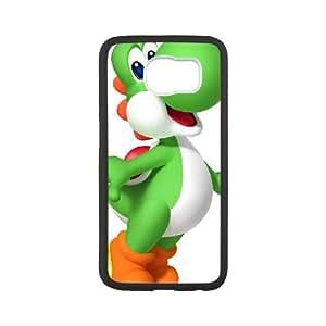 Samsung Galaxy S6 Cell Phone Case Black Super Smash Bros Yoshi BNY_6833052