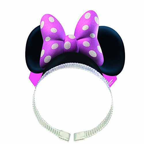 [Minnie Mouse Ears w/ Bows (8 Pack)] (Funny Ideas For Girl Halloween Costumes)
