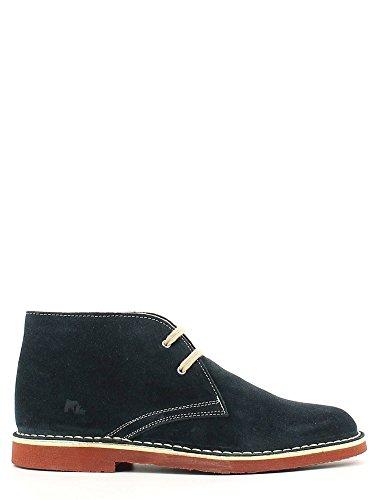 Lumberjack Gable, Zapatos de Cordones Derby para Hombre, Beige, 46 EU Azul - azul marino
