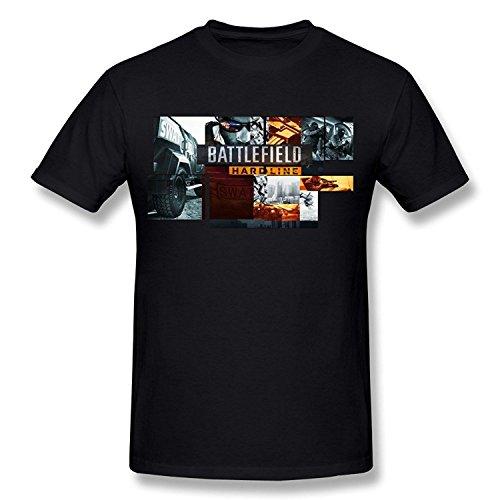 Price comparison product image PASSION Men's BF Battlefield Hardline T-shirt Black S