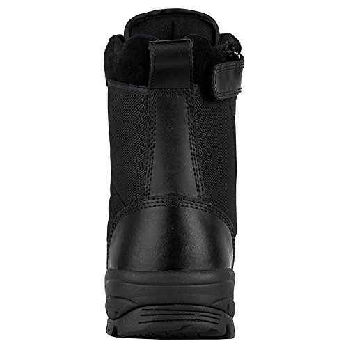 Maelstrom Mens TAC FORCE 8 Inch Waterproof Military Tactical Duty Work Boot with Zipper Black AuCf9vt