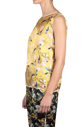 J2722019gold Jucca Viscosa Top Mujer Oro C5prPqwzx5