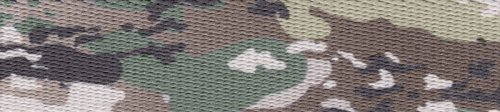 Country Brook Design 1 Inch Mountain Viper Camo Polyester Webbing, 10 Yards by Country Brook Design