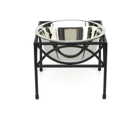 Regal Single Bowl Raised Feeder - 12'' Tall by NMN Products