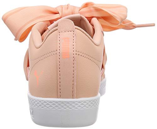 Scarpe Donna Buckle Smash puma peach Puma Rosa Da Bud bright Ginnastica Peach Basse Wns White xwF00qtS