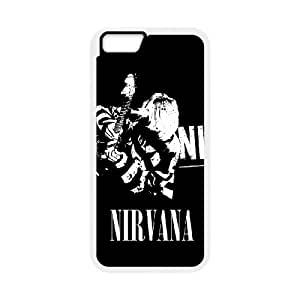 Nirvana Band For iPhone 6 4.7 Inch Custom Cell Phone Case Cover 96II656217