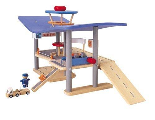 Plan Toys Garage : Amazon plan city airport toys games