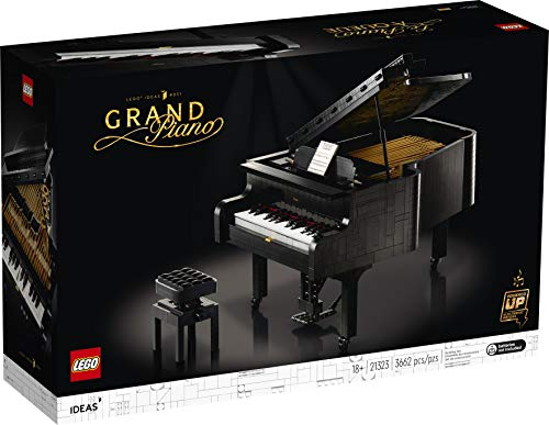 LEGO Ideas Grand Piano 21323 Model Building Kit, Build Your Own Playable Grand Piano, an Exciting DIY Project for The…