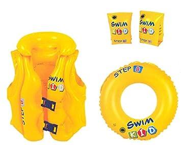 JILONG Swim Kid Set - Set de Aprendizaje Hinchable: Flotador ...