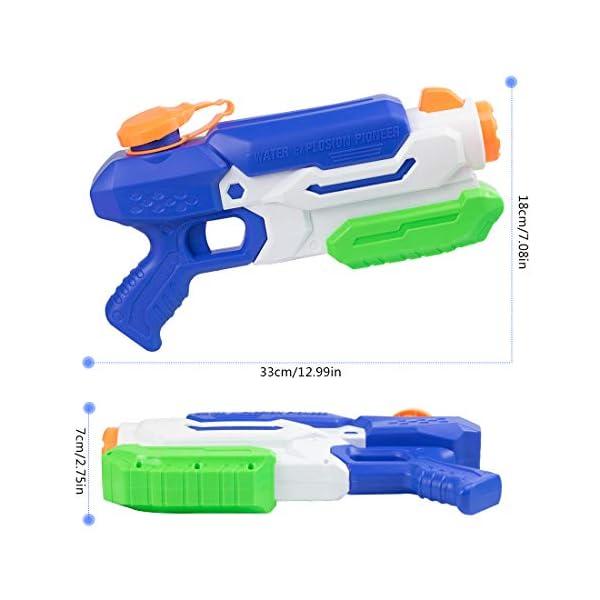 O-Kinee Pistole ad Acqua Giocattolo,Squirt Gun Tiratore delle Pistole Ad Acqua del Giocattolo per I Bambini della… 2 spesavip