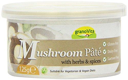 GranoVita - Pâteolé – Savoury Pâté – Mushroom (tin) - 125g ()