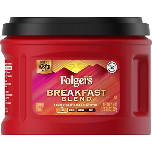 Folgers Breakfast Blend Mild Roast Ground Coffee