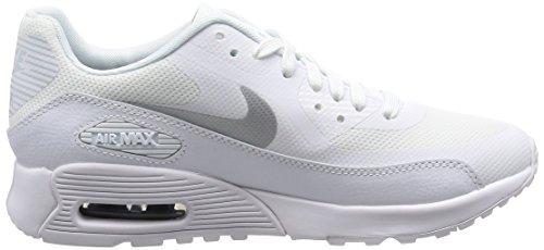 Nike Kvinnor Air Max 90 Ultra Löparskor Vit / Metallisk Platina-white