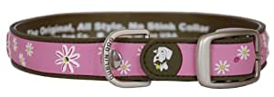 All Style 17-Inch by 21-1/2-Inch No Stink Dog Collar, Large, Cotton Candy