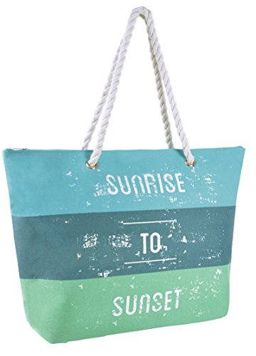 Metallic Lora To Blue Handbag Sunrise Bag Sunset Holiday Beach Reusable Tote Dora Womens Canvas Shoulder Summer nqU4rSwq8x