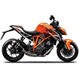Collectable Diecast Maisto 1:12  KTM 1290 Super Duke R Orange Motorcycle Model