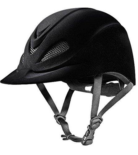 Helmet Velveteen Show (Troxel Capriole Velvet Flock Helmet, Medium)