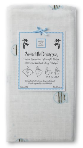 SwaddleDesigns Essentials, Set of 8 - Pastel Blue with Chocolate Brown by SwaddleDesigns (Image #9)
