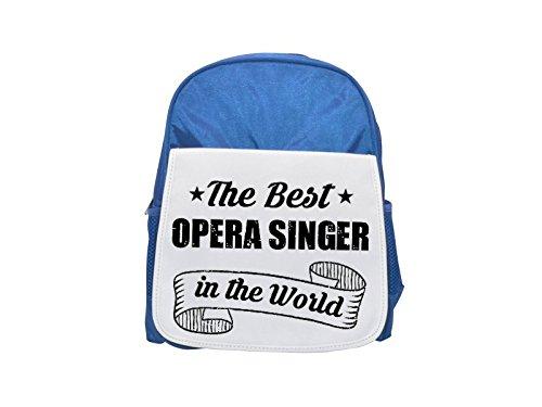 THE BEST Opera Singer IN THE WORLD printed kid's blue backpack, Cute backpacks, cute small backpacks, cute black backpack, cool black backpack, fashion backpacks, large fashion backpacks, black fashio