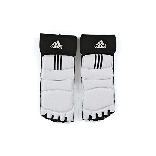 Adidas Takewondo Foot Protector Foot Guard Foot Gear KTA Approved TKD Tae Kwon Do S to XL (3.L(10.2-10.6inch)(260-270cm))