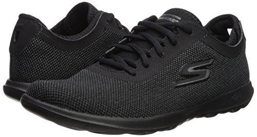 Trainers Womens Sports Skechers ladies Noir Lite Intuitive Gowalk wHYwvqR7