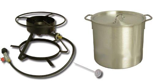 King Kooker Coastal Boiling Outdoor Cooker Package, # 5002 by King Kooker
