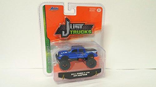 (Jada Just Trucks 2011 Ford F-150 SVT Raptor Blue 2015 Wave 7 DiesCast Collectible Car)