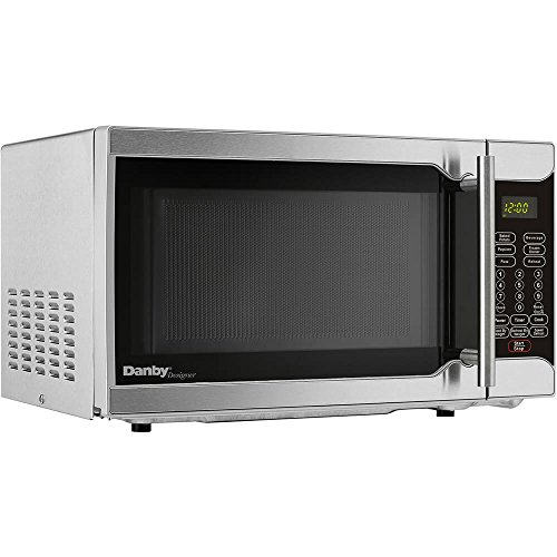 Danby Designer 0.7 Cu. Ft. 700W Kitchen Countertop Microwave, Stainless Steel Review