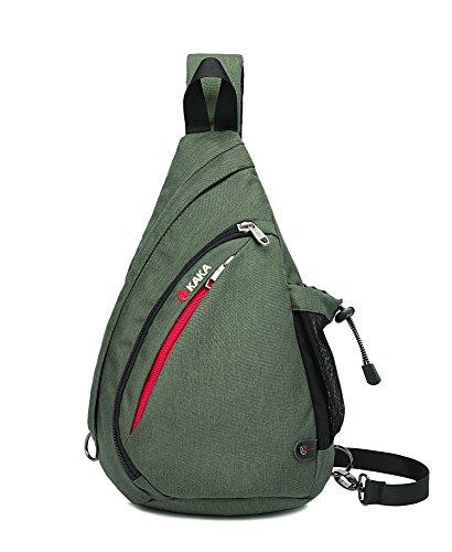 Fengju Sling Backpacks Travel Backpack Crossbody Bag Sling Bag Chest Bag (S size, (Guitar Pro 5.1 Guitar)