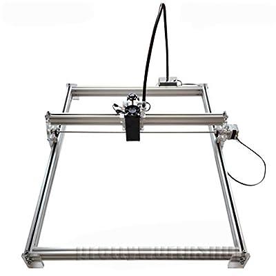 SUNWIN 50X65cm 7W Desktop Laser Engraver Metal Iron Stell Stone Ceramic Engraving Print