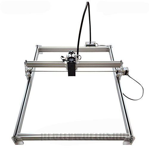SUNWIN 50X65cm 7W Desktop Laser Engraver Metal Iron Stell Stone Ceramic Engraving Print by Sunwin