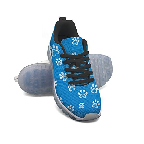 Faaerd Cane Zampa Di Gatto Impronta Mens Moda Sneaker Leggero Cuscino Daria Scarpe Da Basket Sneakers Da Basket