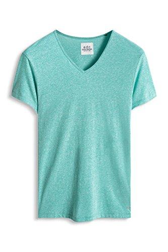 Esprit Heather V, Camiseta para Hombre Verde (Aqua Green)