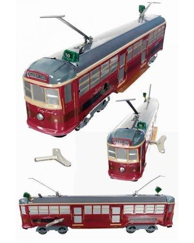 TinToyArcade City Circle Tram Melbourne Street Car (Includes One Tram Car w/Key)