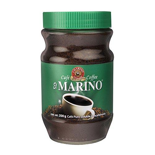 Café El Marino Café Instantáneo Descafeinado en Frasco, 175 g