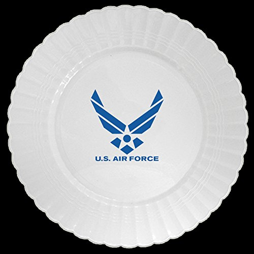 Partypro AIR FORCE PLASTIC BANQUET PLATE (8 CT.)
