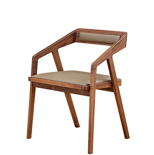 Amazon.com: XINGPING Silla de comedor nórdica de madera ...