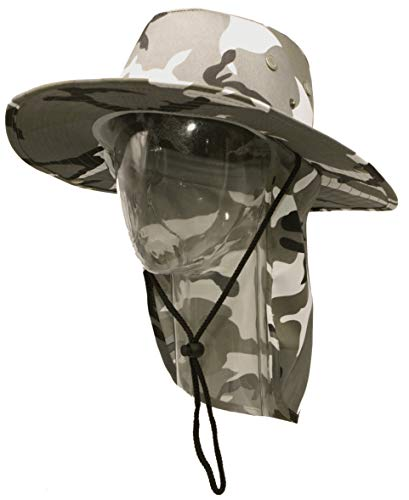 RufnTop Bora Booney Sun Hat for Outdoor Hiking, Safari, Camp