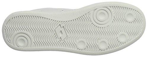Lotto 1973 V W, Zapatillas para Mujer Blanco (Wht/gld Str)