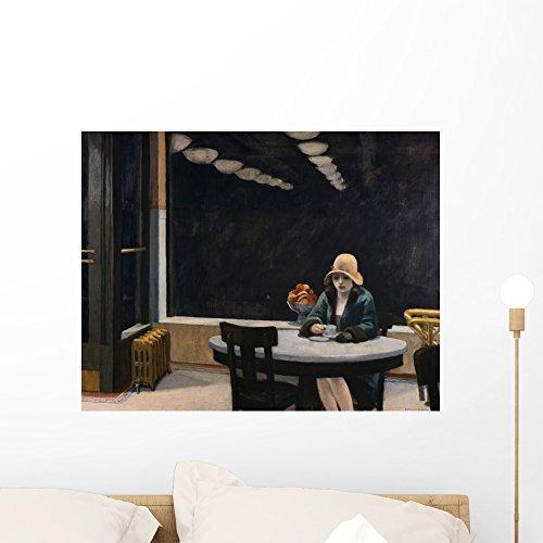 (Wallmonkeys Automat Edward Hopper Wall Decal Peel and Stick Graphic WM10764 (24 in W x 19 in H))