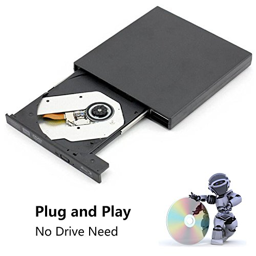External blu-ray disc drive, USB portable DVD burner,BD-ROM,DVD/CD-RW/ROM Writer/Player,Support xp/win/Linux system related desktop, notebook, etc (black) by tengertang (Image #5)'