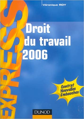 Read Droit du travail 2006 pdf