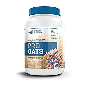 Optimum Nutrition Harina de Avena y Proteína Whey en Polvo de Sabor Frutas del Bosque - 1,4 kg