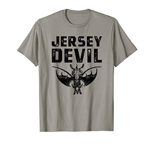 Jersey Devil T-Shirt, Leeds Monster Cryptid Tee Apparel