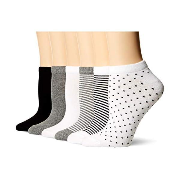 Amazon Essentials Women's 6-Pack Casual Low-Cut Socks