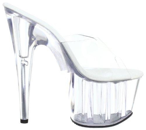 Sandales Pleaser Adore Transparent clr Femme 701 clr Plateforme qqE7r