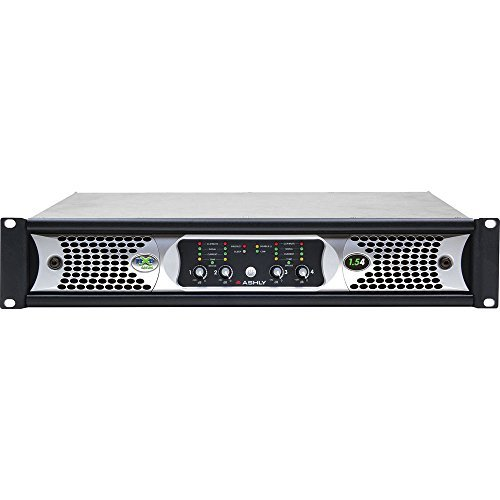 Ashly Audio Protea (Ashly nXp1.54 Network 4-Channel 1.5KW Programmable-Output Power Amplifier w/ Protea DSP)